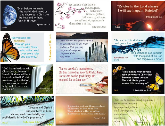 31 bible verse cards cheri gregory