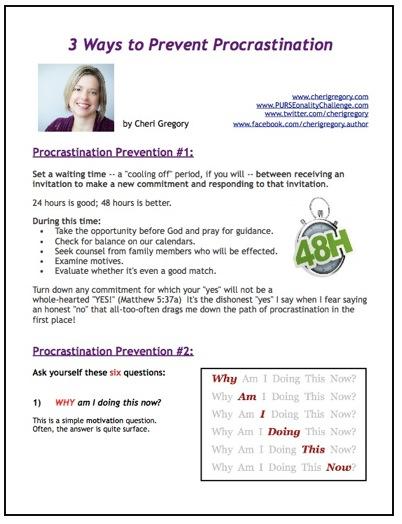 Preventing_Procrastination
