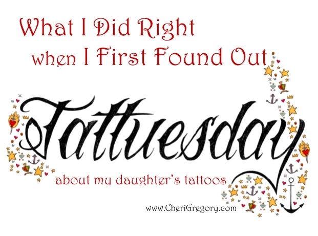 What I Did Right When I First Found Out About My Daughters Tattoos IMAGE