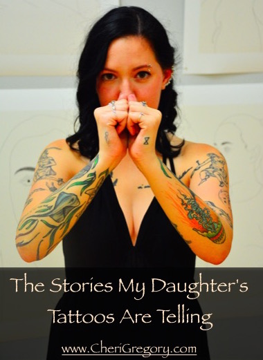 Stories My Daughter's Tattoos Are Telling